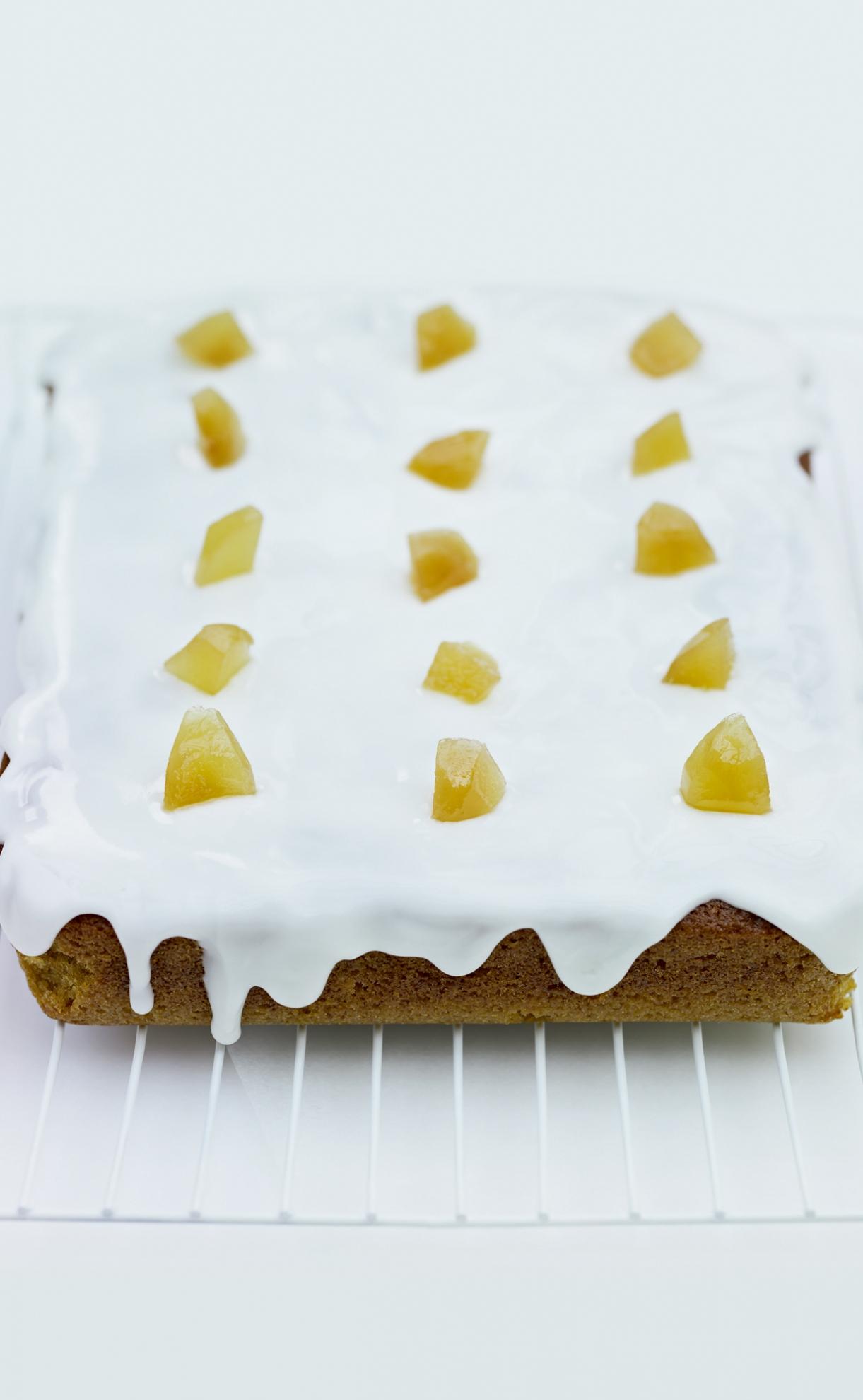 Recipe stem ginger cake