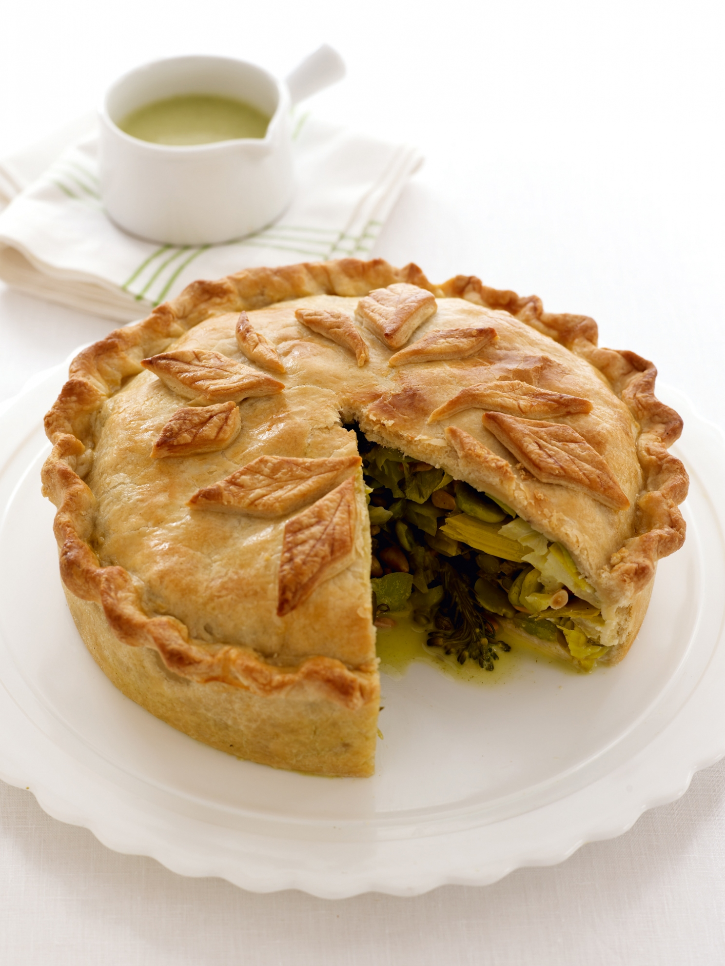 A Luxuriant Vegetable Pie Recipes Delia Online