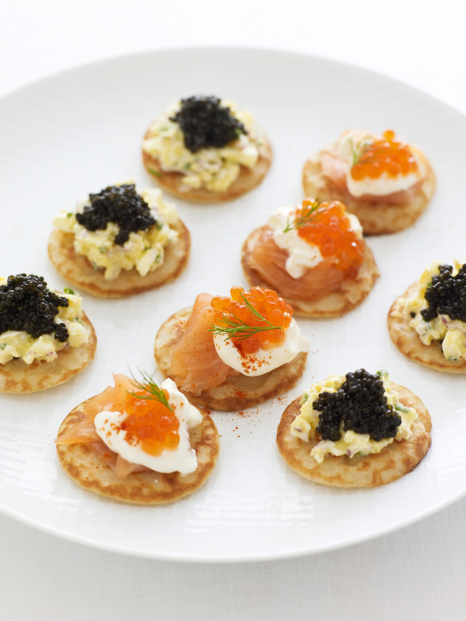 Blinis With Smoked Salmon And Caviar Recipes Delia Online