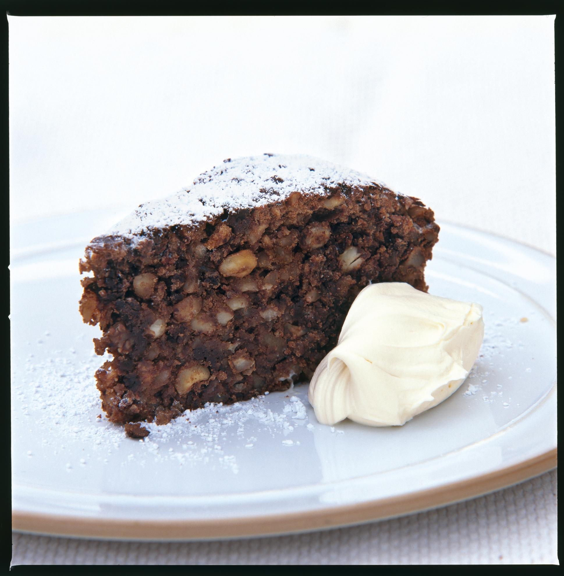 Chocolate Sponge Cake Delia