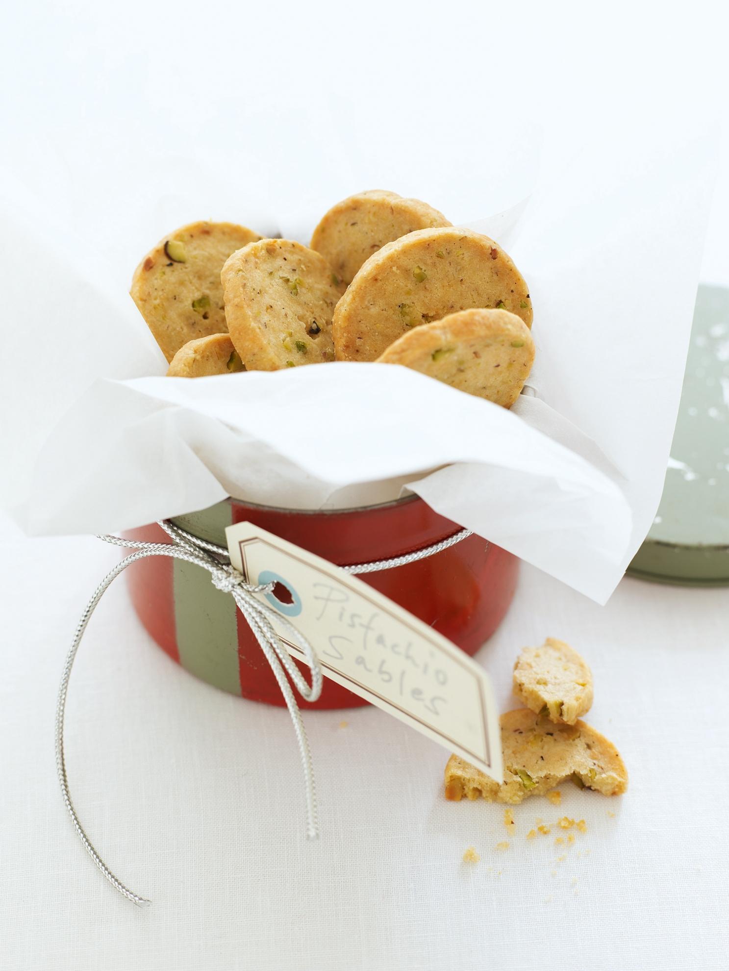 Pistachio Sables | Recipes | Delia Online