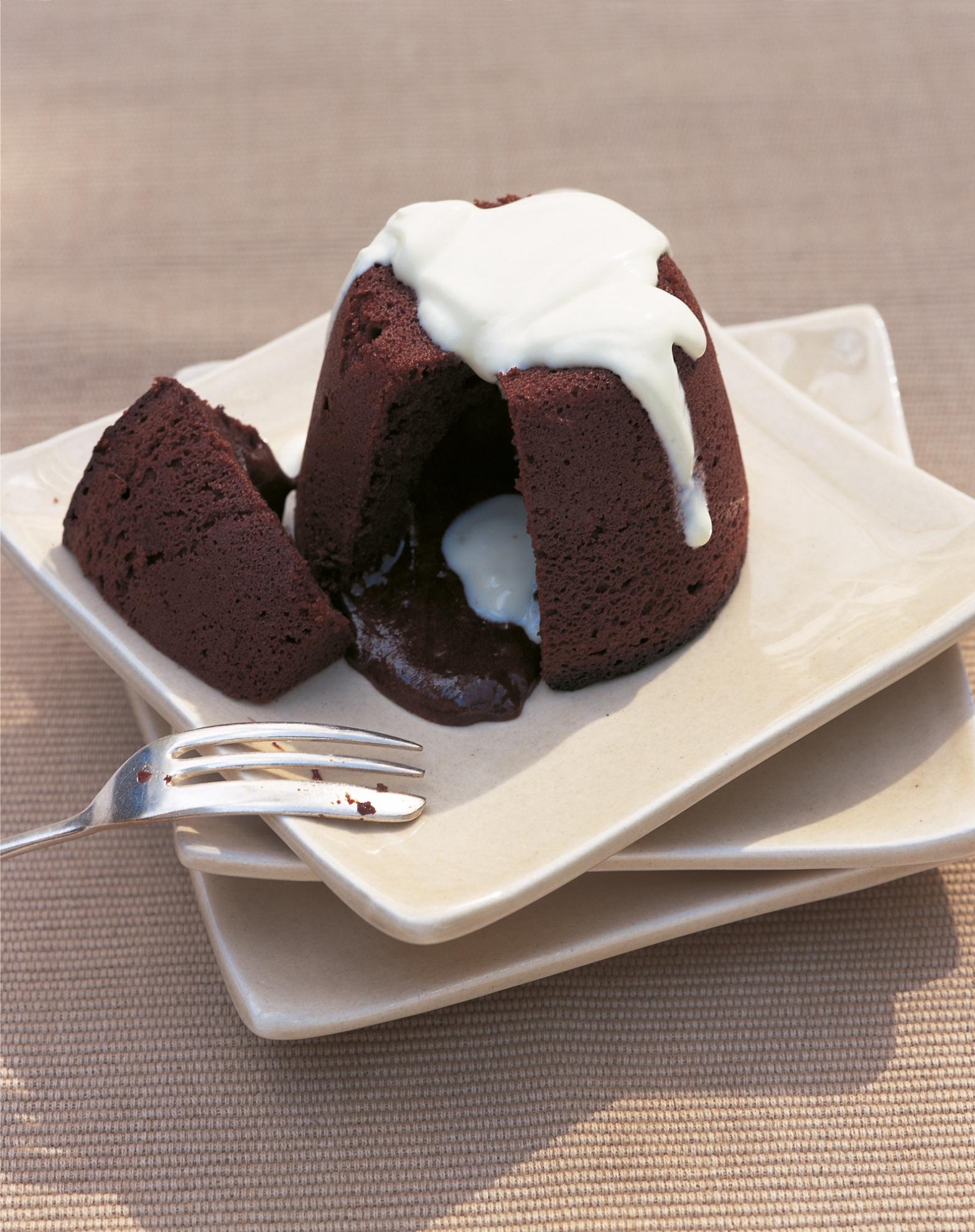 Melting Chocolate Puddings