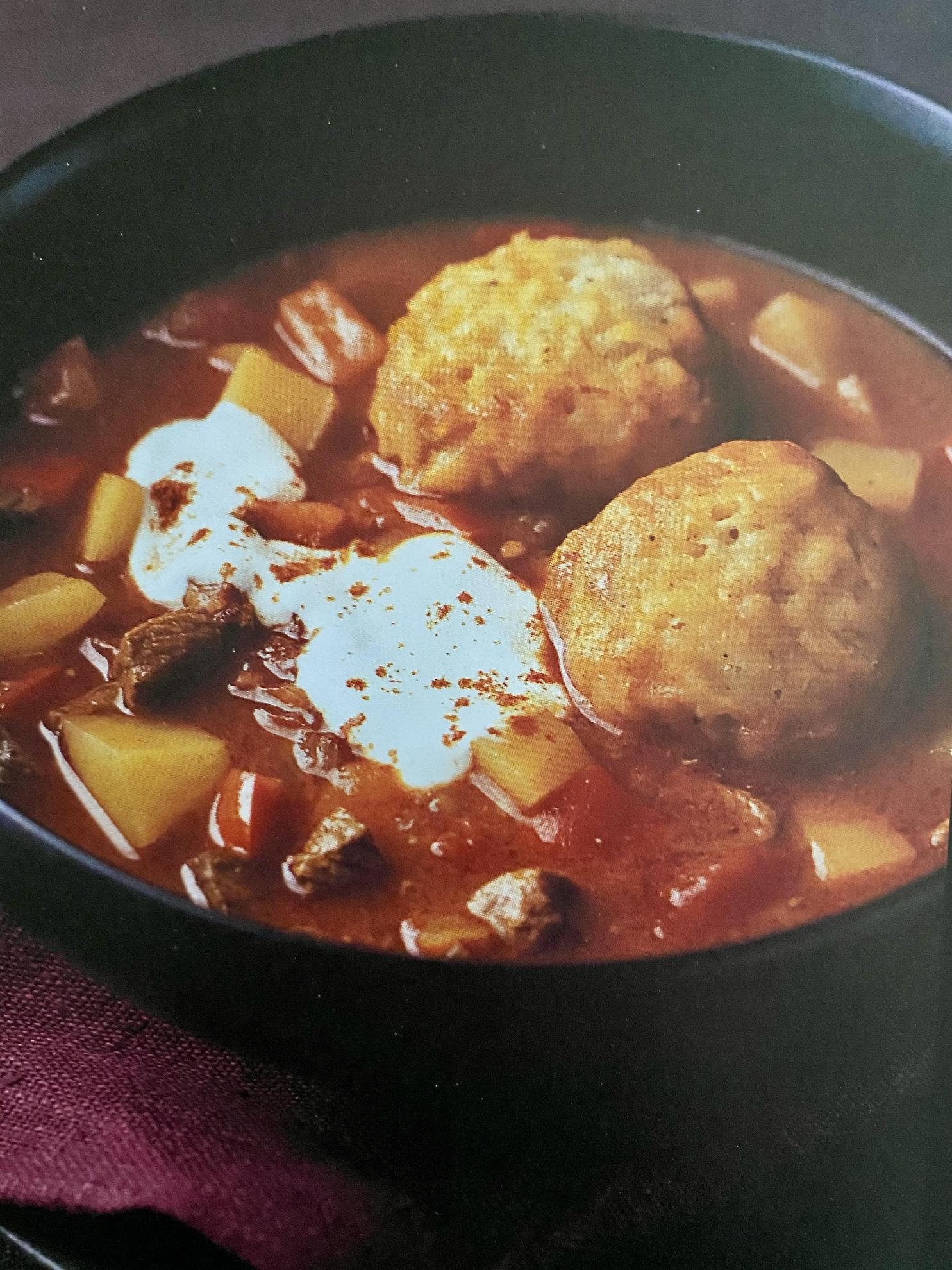 Goulash Soup With Dumplings Recipes Delia Online