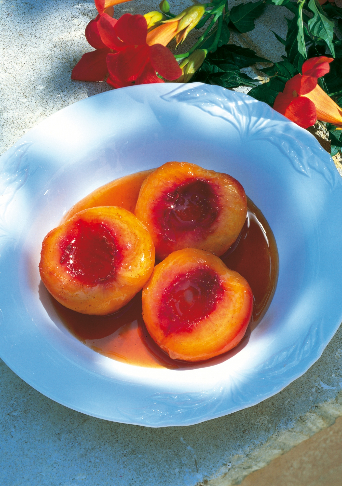 How to cook peaches