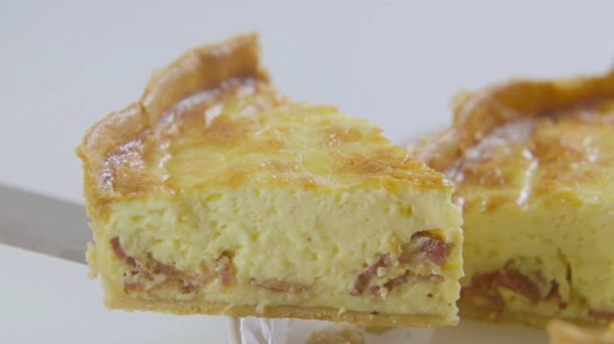 A picture of Delia's Third Term - Lesson 2 - Quiches and Tarts cookery school video