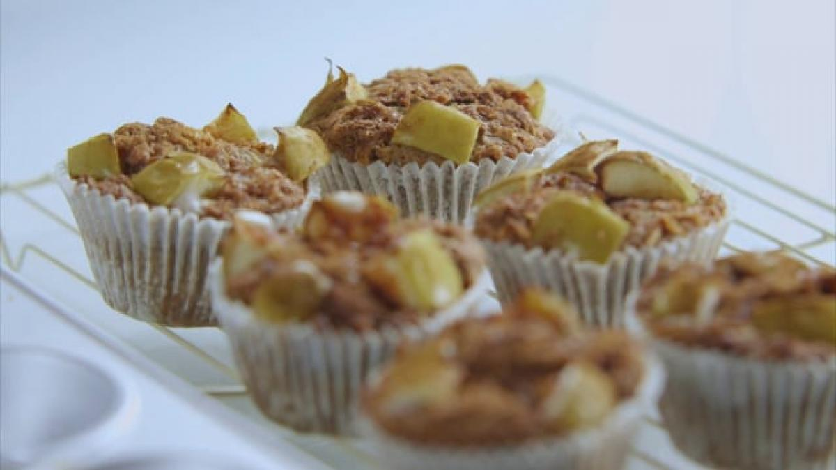 A picture of Delia's First Term - Lesson 6 - Muffins cookery school video