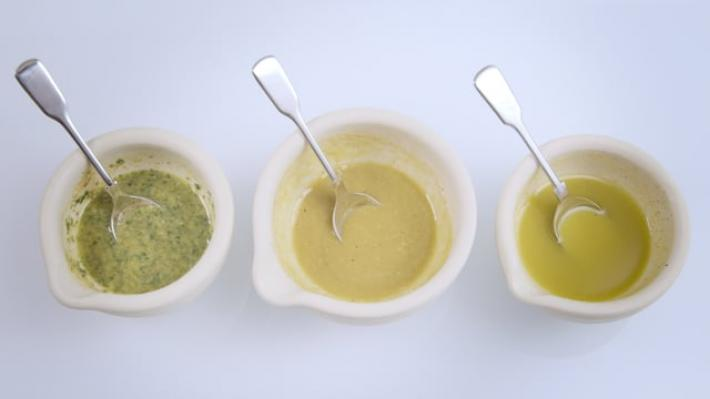 A picture of Delia's How to Make a Vinaigrette Dressing cookery school video