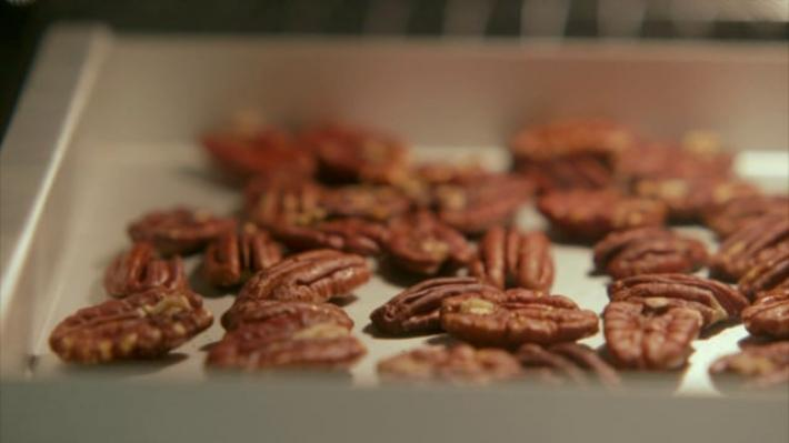 A picture of Delia's How to Roast, Chop and Prepare Nuts cookery school video