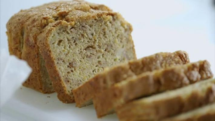 A picture of Delia's First Term: Lesson 5  - Loaf Cakes cookery school video