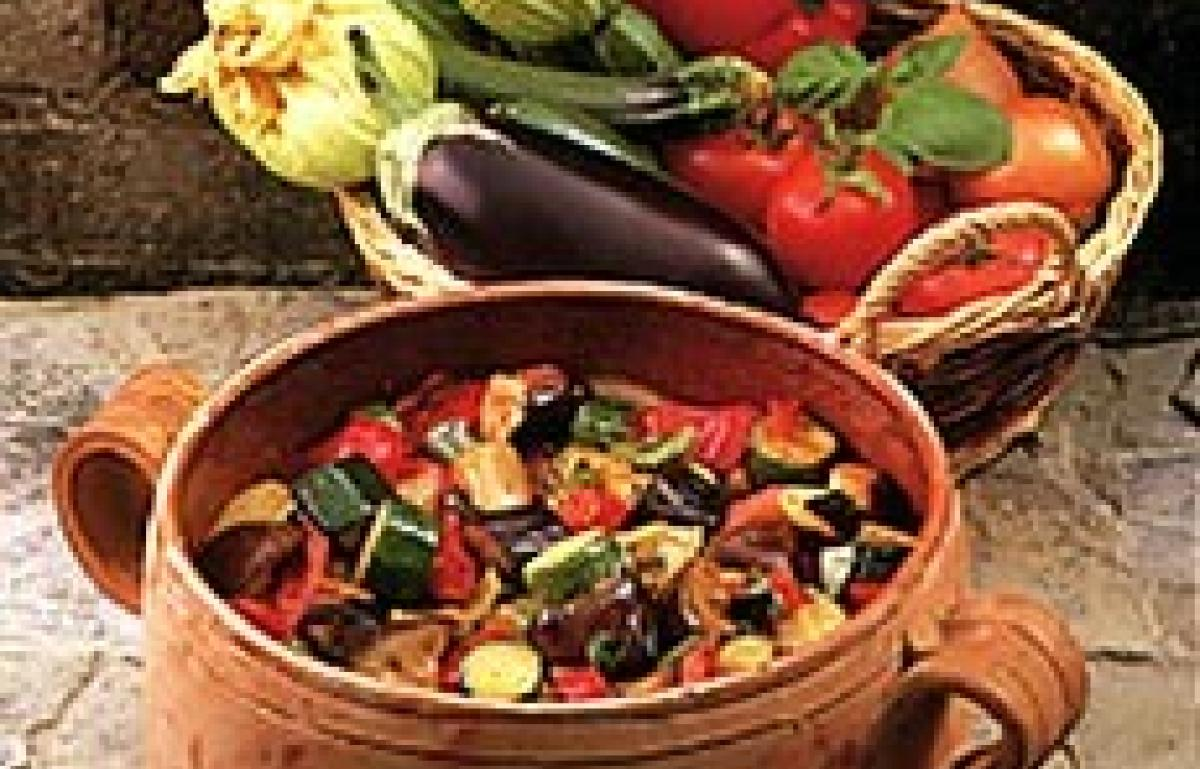 A picture of Delia's Ratatouille recipe