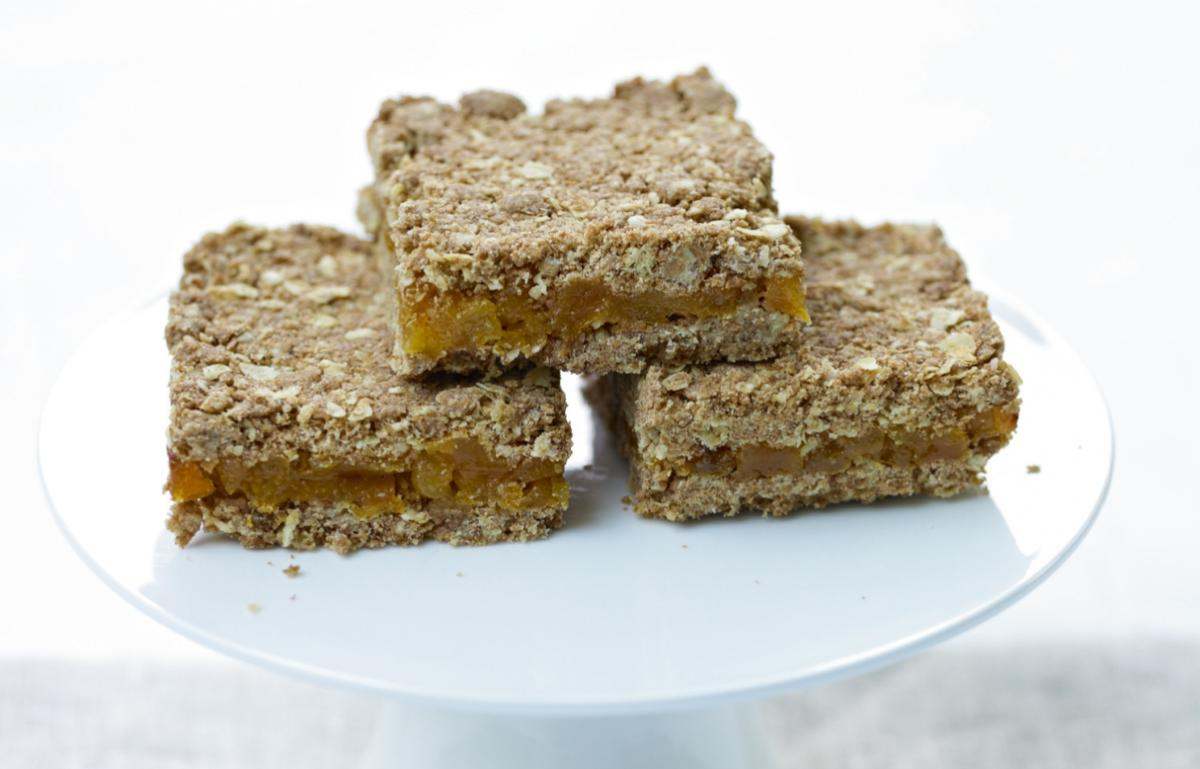 A picture of Cake of the Week: Apricot Oat Slices