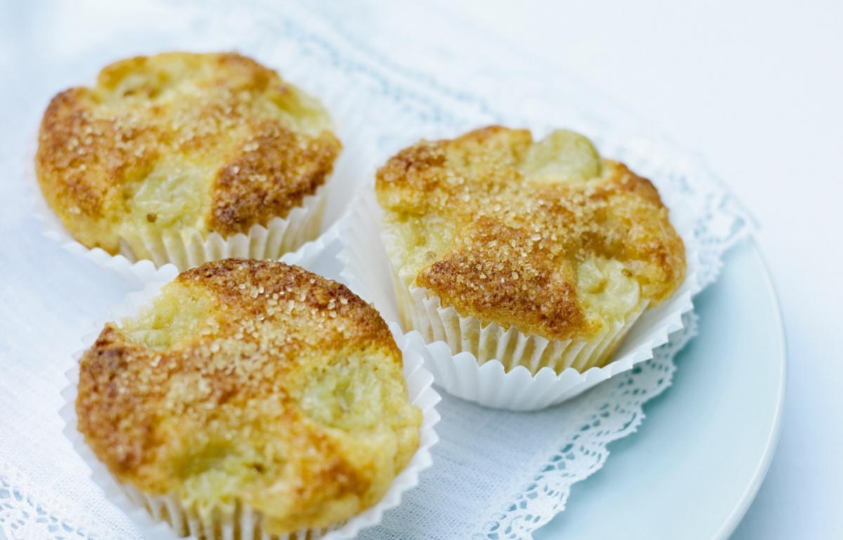 A picture of Delia's Fresh Gooseberry and Elderflower Muffins recipe