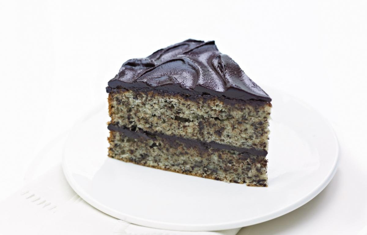 A picture of Delia's Grated Chocolate and Almond Cake recipe