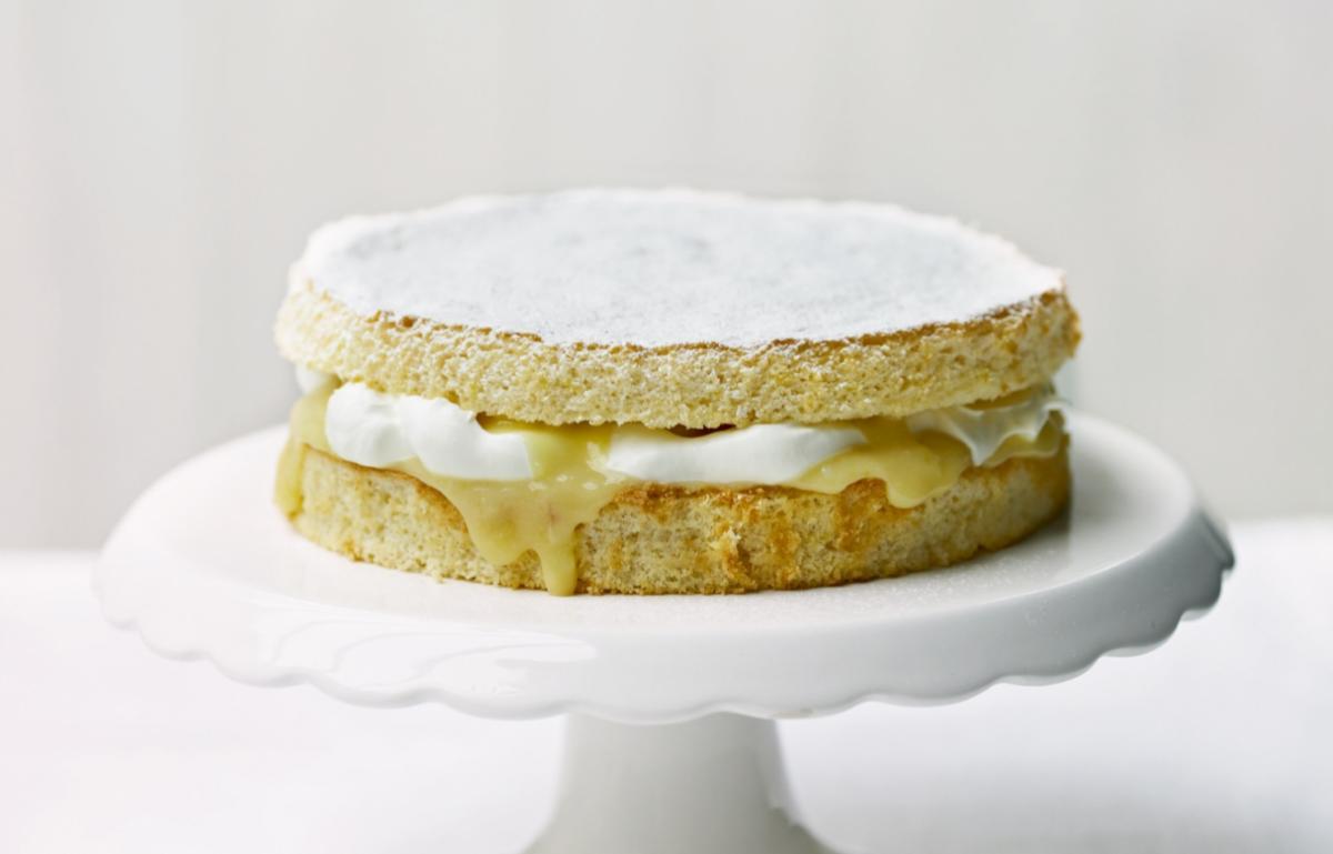 Cakes lemon griestorte