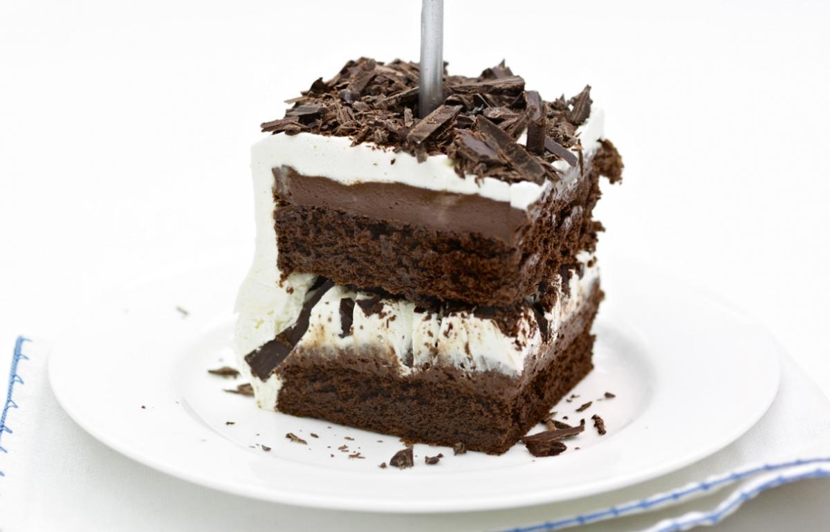 Cakes squidgy chocolate cake
