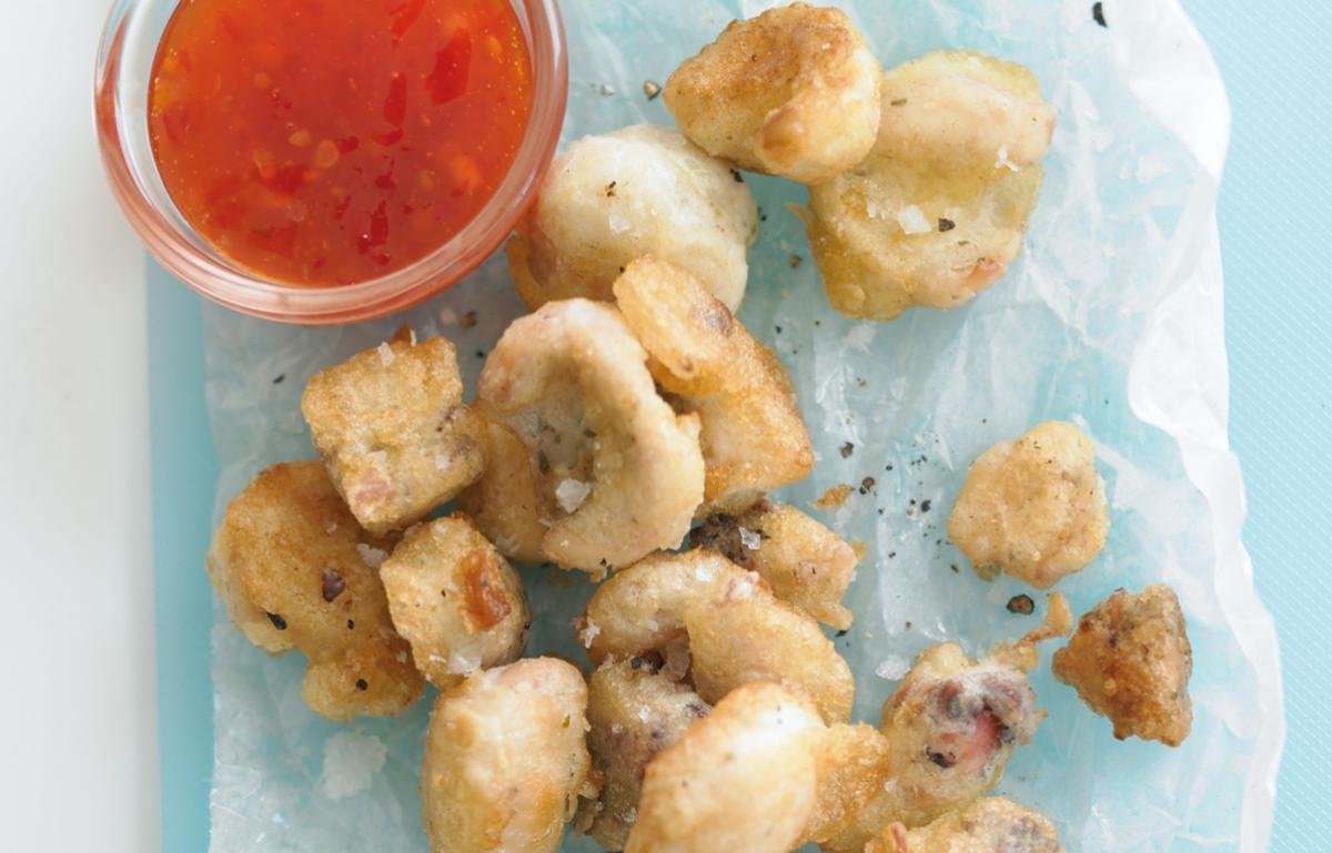 A picture of Delia's Calamares Fritos (Fried Baby Squid) recipe