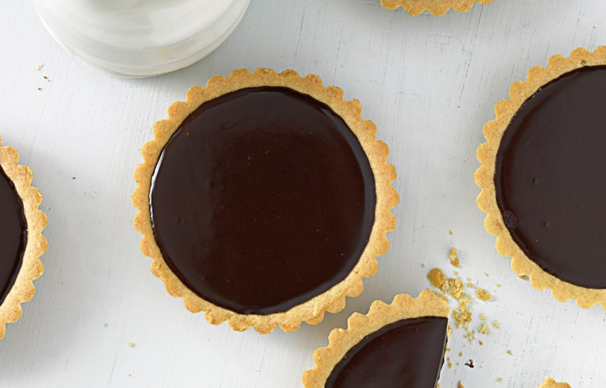 A picture of Delia's Chocolate Tartlets recipe