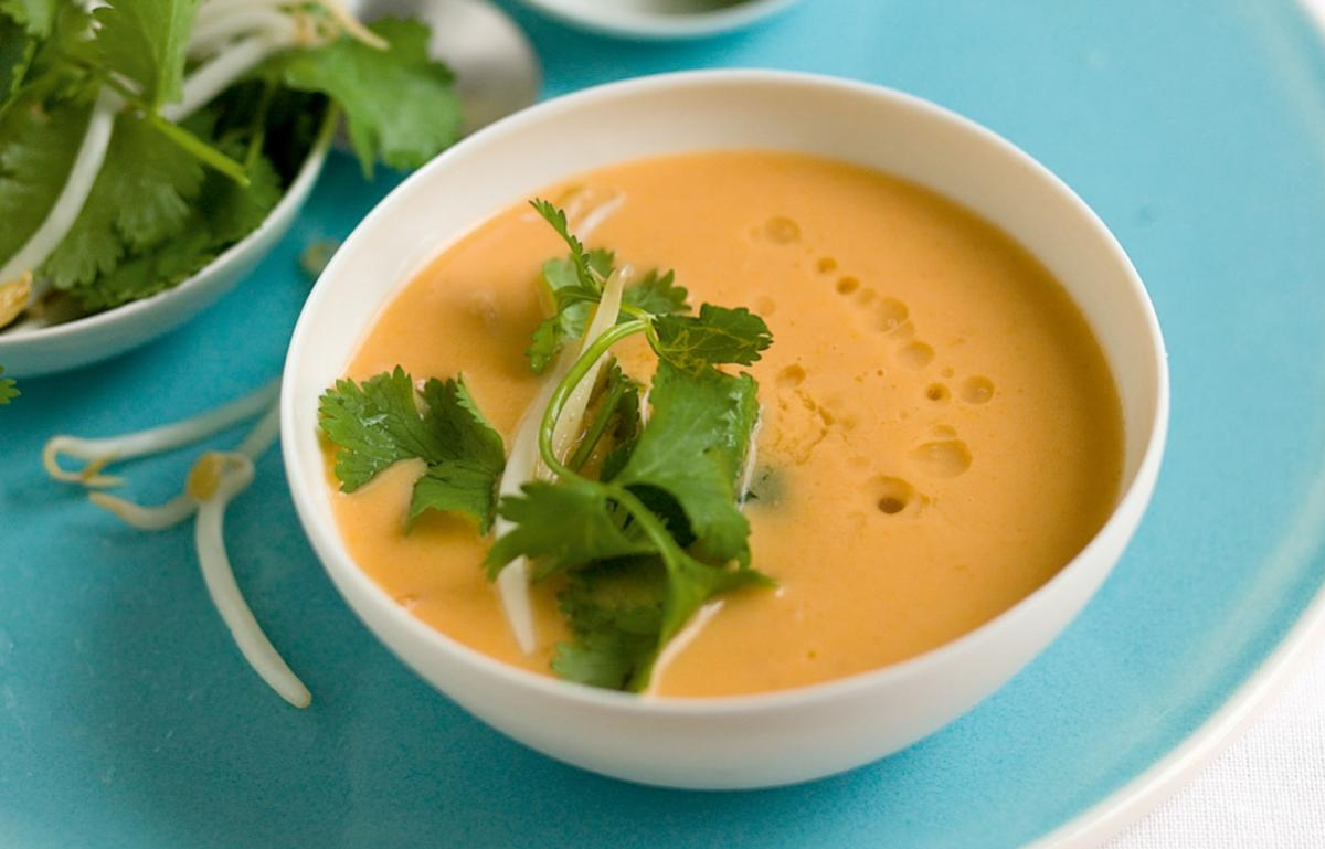 A picture of Delia's Lobster and Coconut Soup with Lemongrass and Ginger  recipe