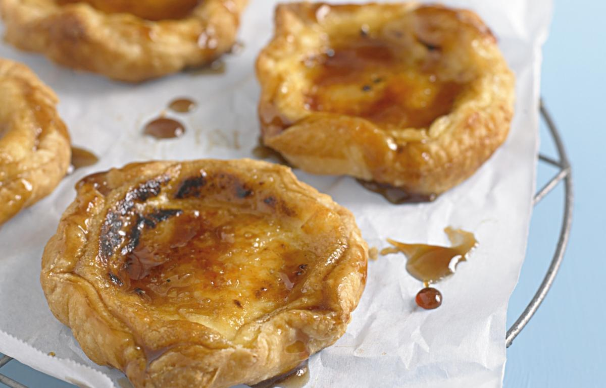 A picture of Delia's Portuguese Custard Tarts recipe