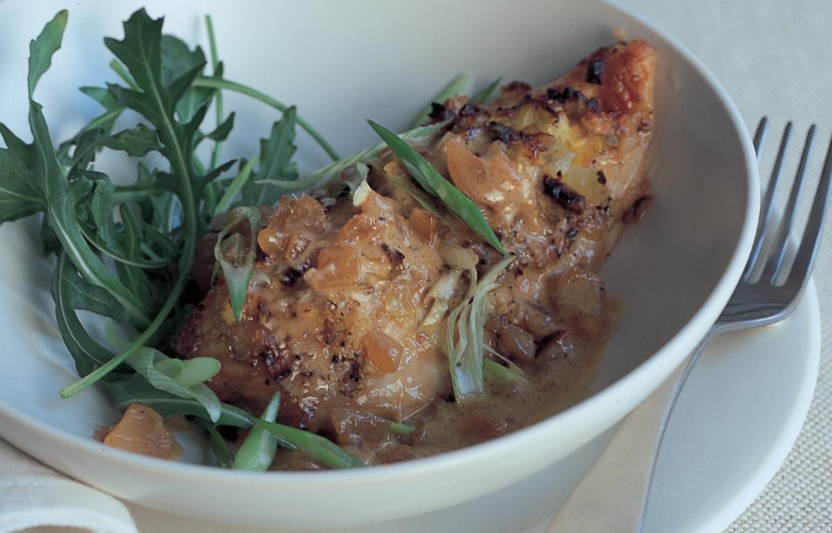 A picture of Delia's Chicken Breasts with Stem Ginger Sauce recipe
