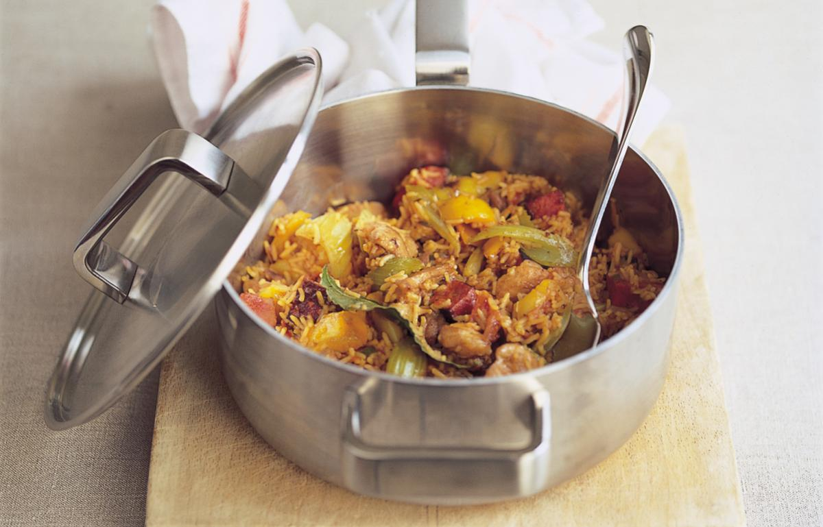 A picture of Delia's Chicken Jambalaya recipe