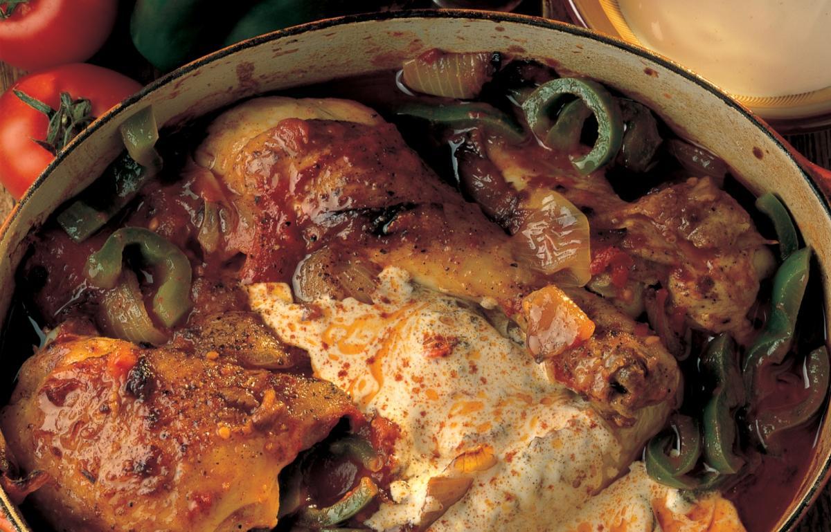 A picture of Delia's Chicken Paprika recipe