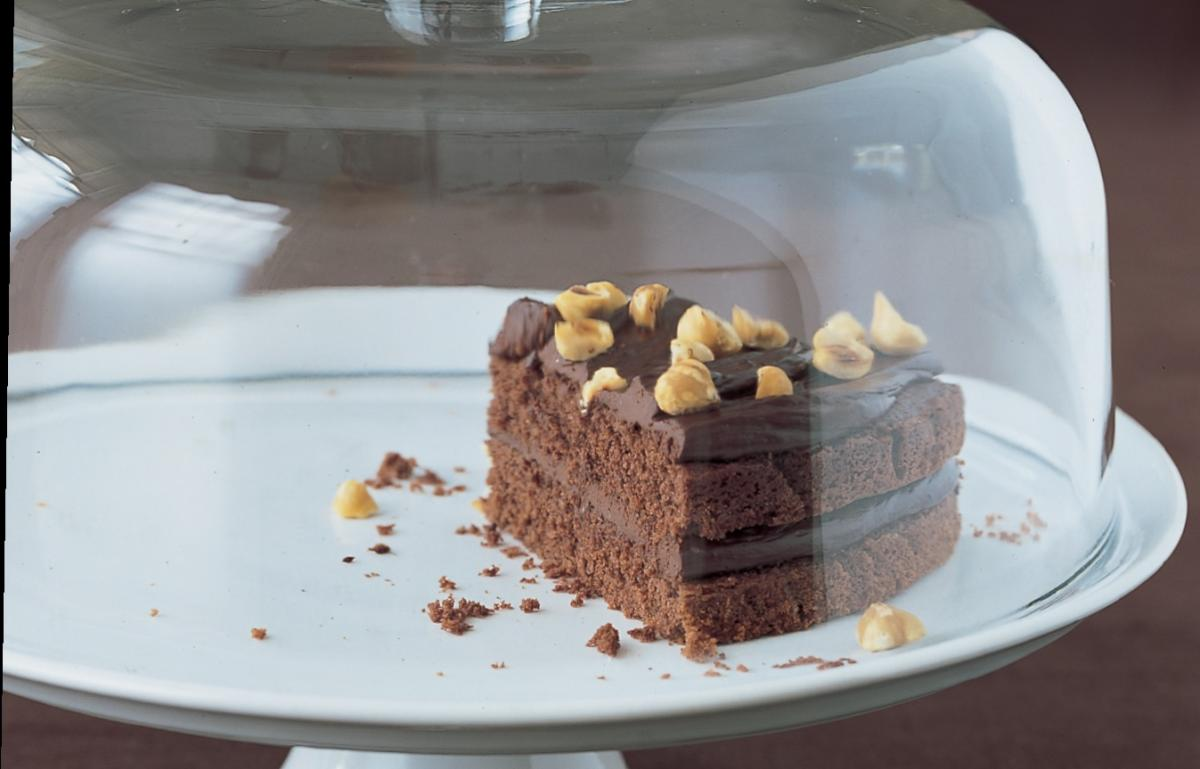A picture of Delia's Chocolate Soured Cream Cake recipe