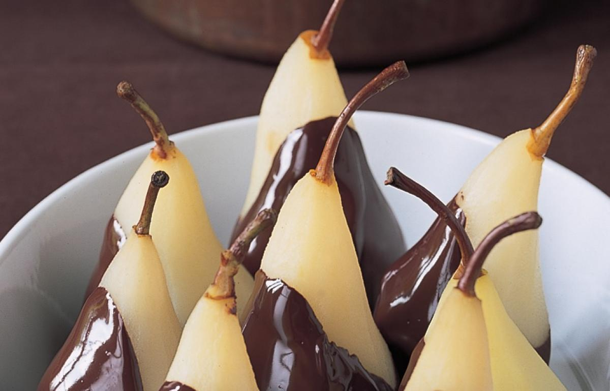 Chocolate poires belle helene