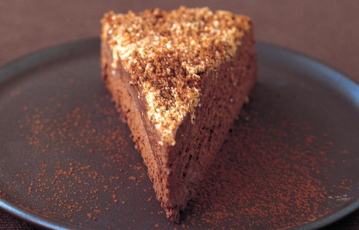 A picture of Serving Chocolate Truffle Torte