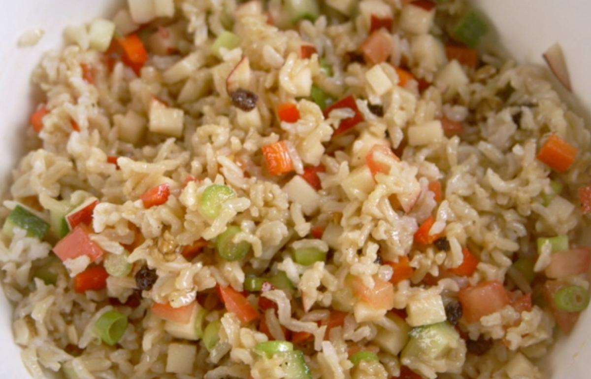 Cs brown rice salad