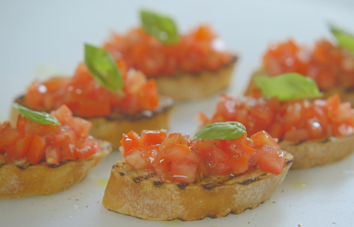 A picture of Delia's Bruschetta with Tomato and Basil recipe