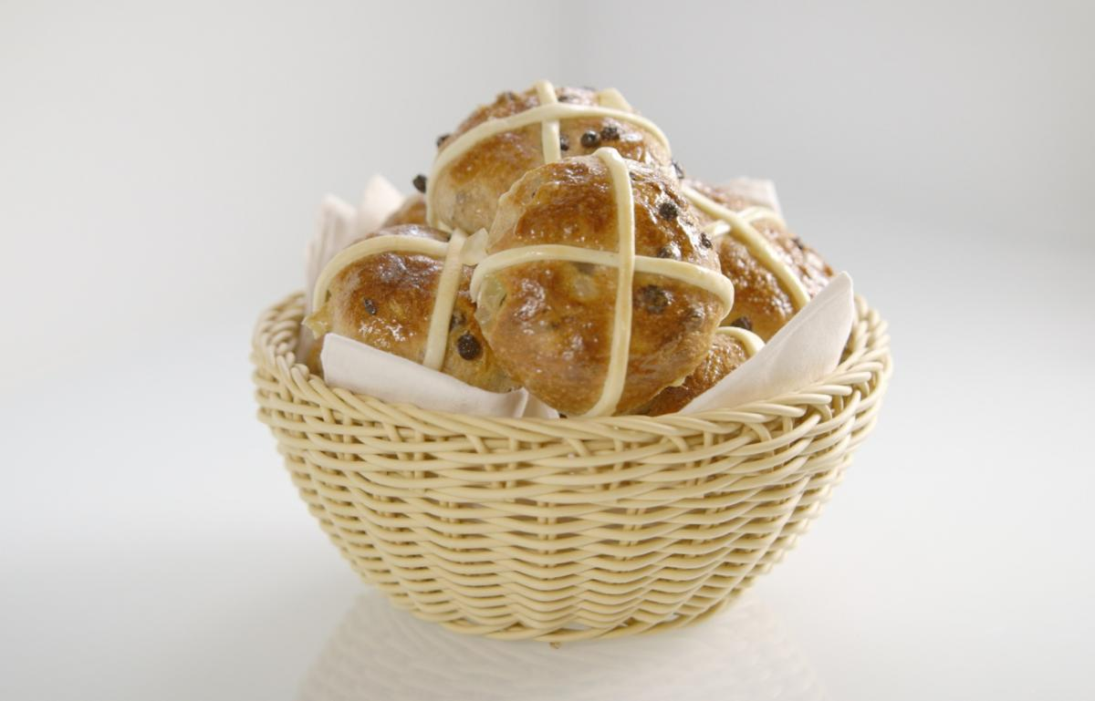 A picture of Delia's Hot Cross Buns recipe