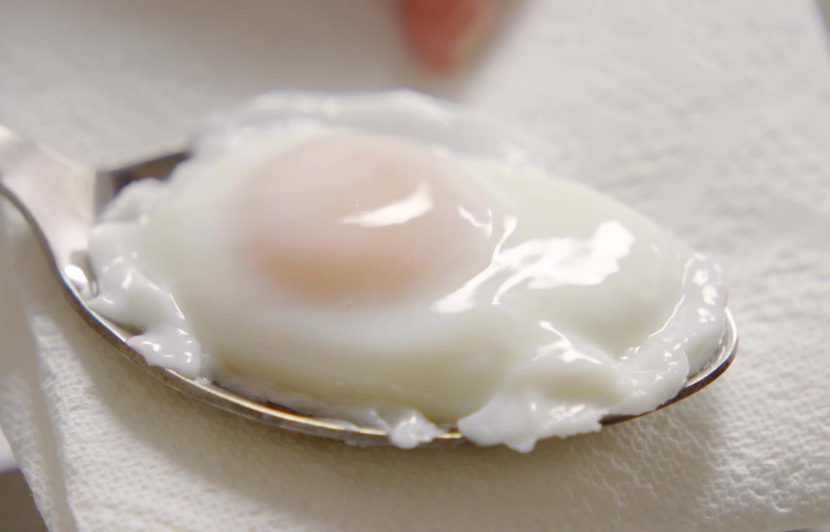 Cs poached eggs