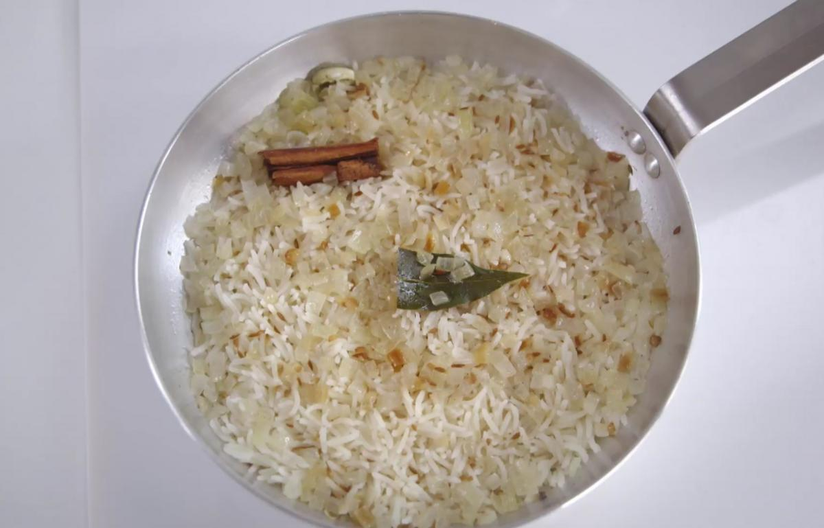 Cs spiced pilau rice