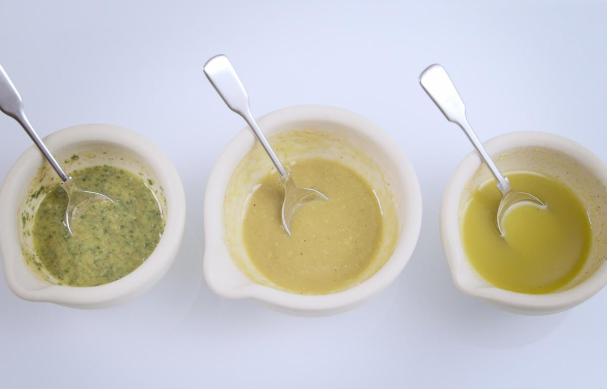 Csvideo vinaigrette dressing
