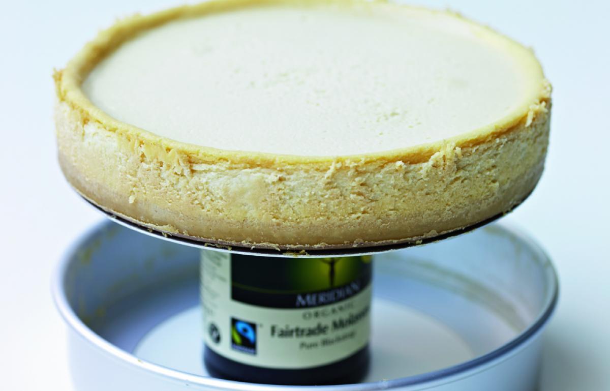 Equipment cheesecake technique