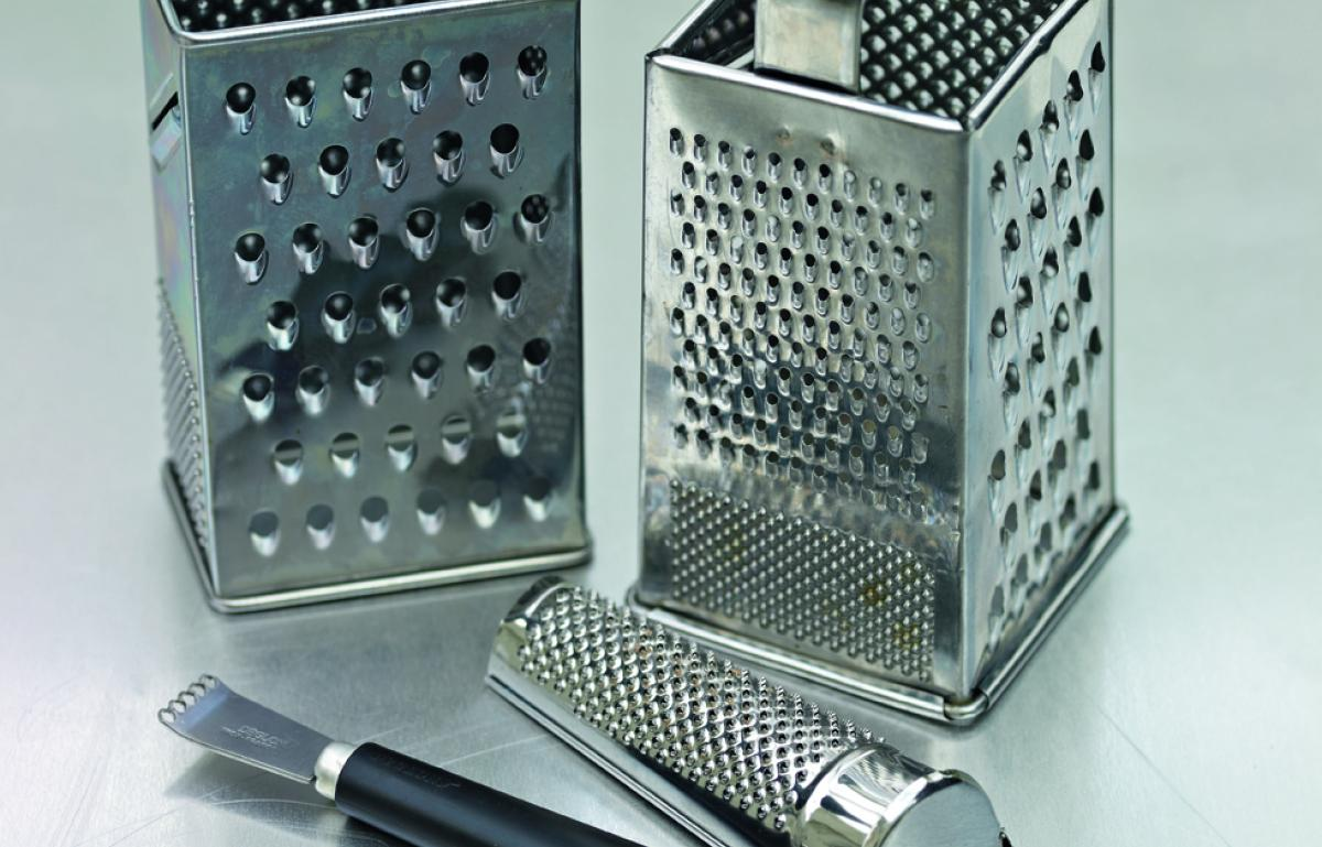 Equipment graters