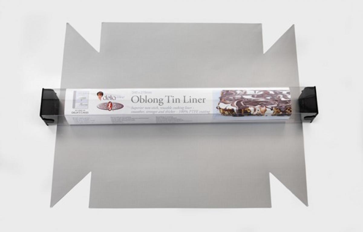 Equipment oblong tin liner pack