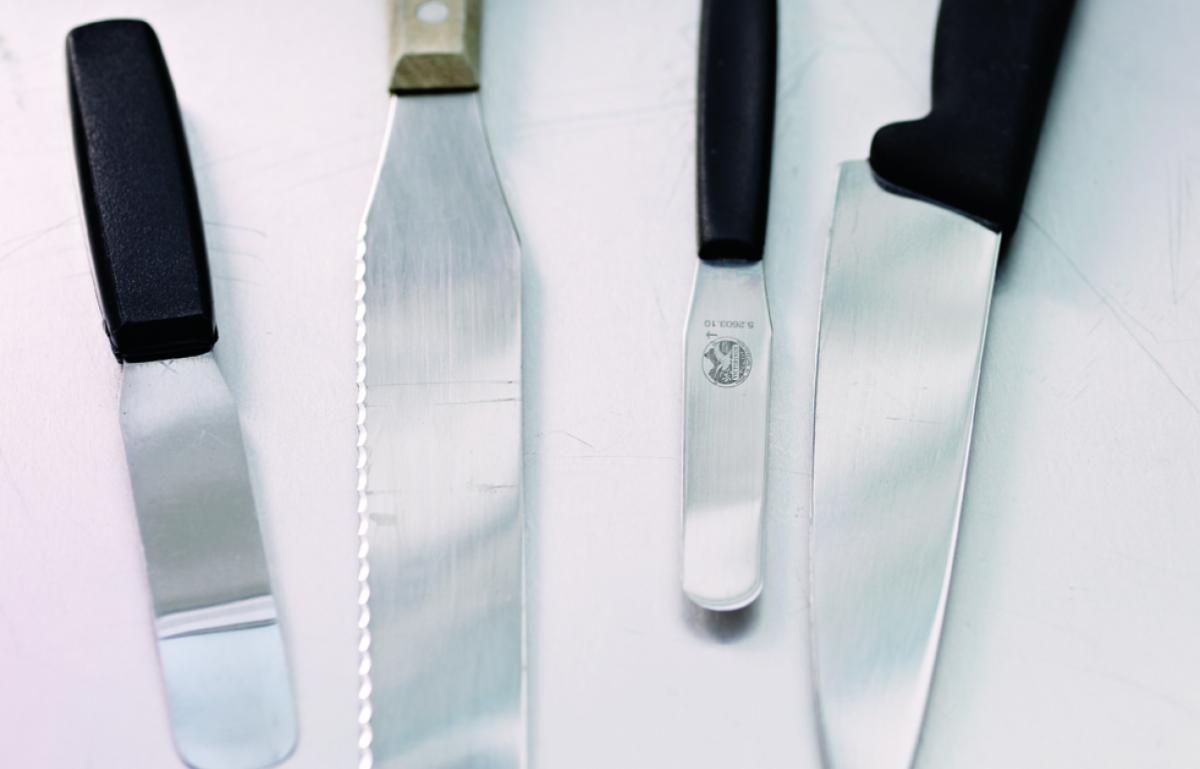 Equipment palette knife