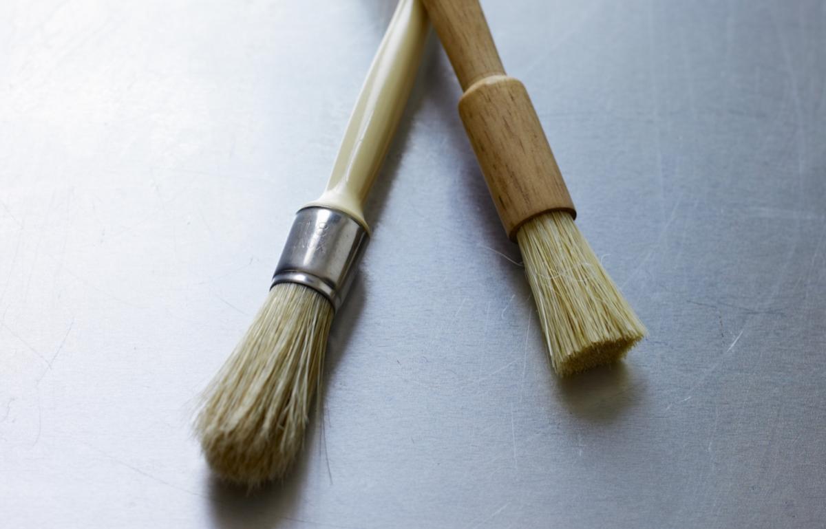 Equipment pastry brushes
