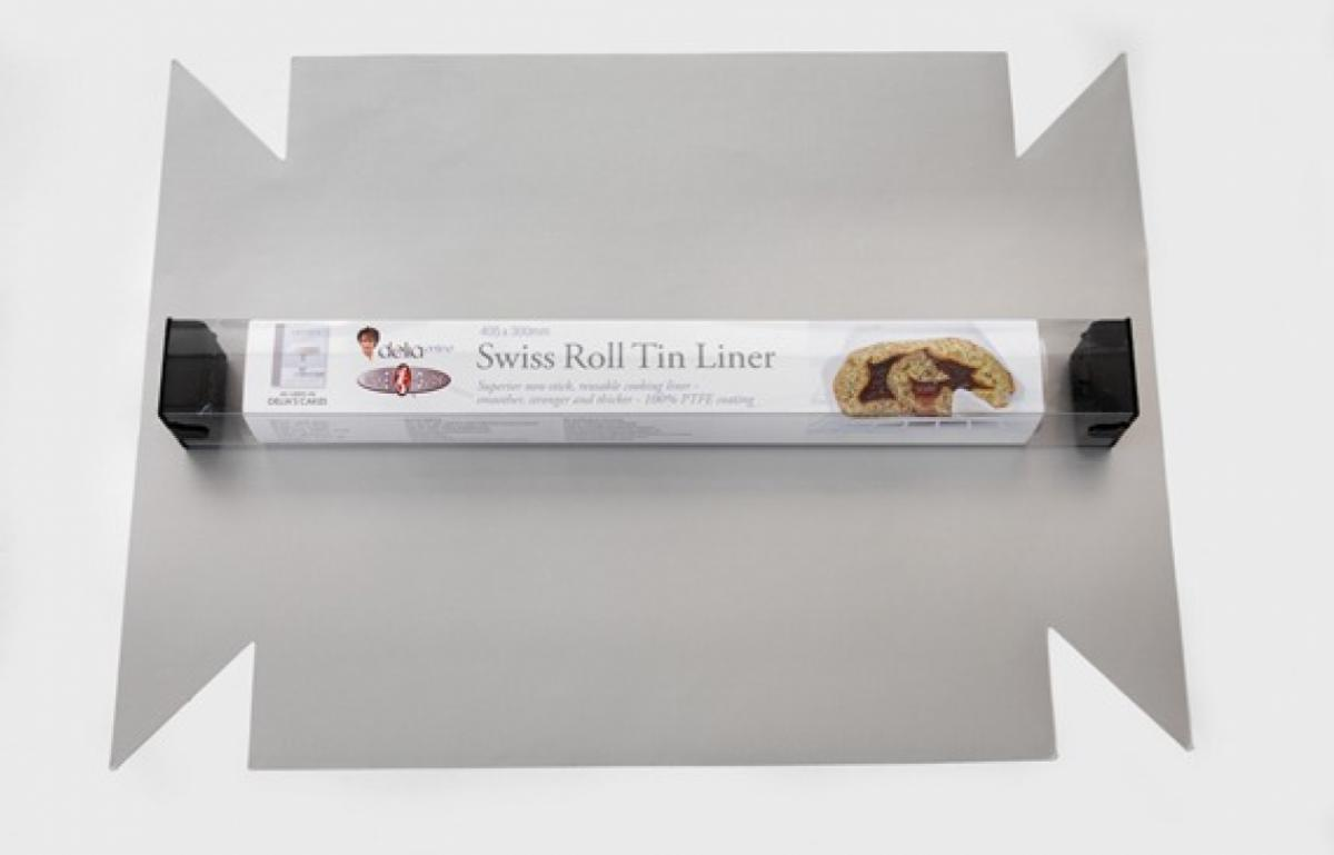 Equipment swiss roll tin liner pack