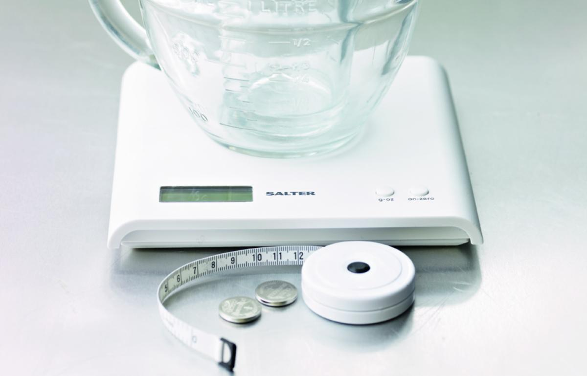 Equipment weighing scales