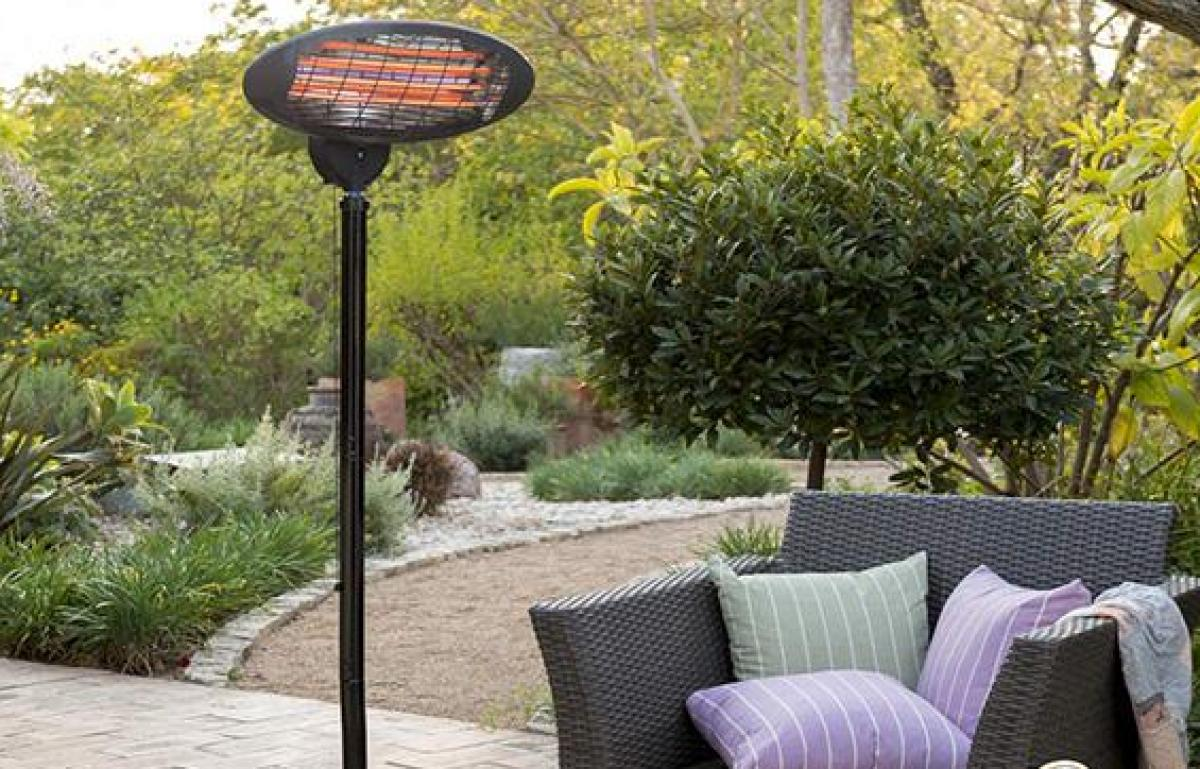 A picture of Rose's Spring Shop Watch: Outdoor Patio Heater