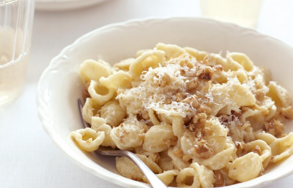 A picture of Delia's Orecchiette with Walnut Sauce recipe