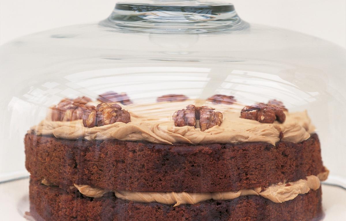 Austrian Coffee And Walnut Cake