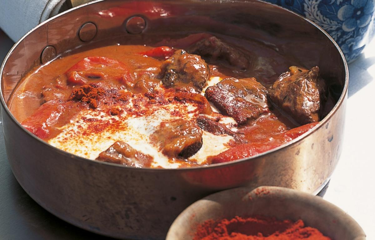 A picture of Delia's Braised Beef Goulash with Smoked Pimenton recipe