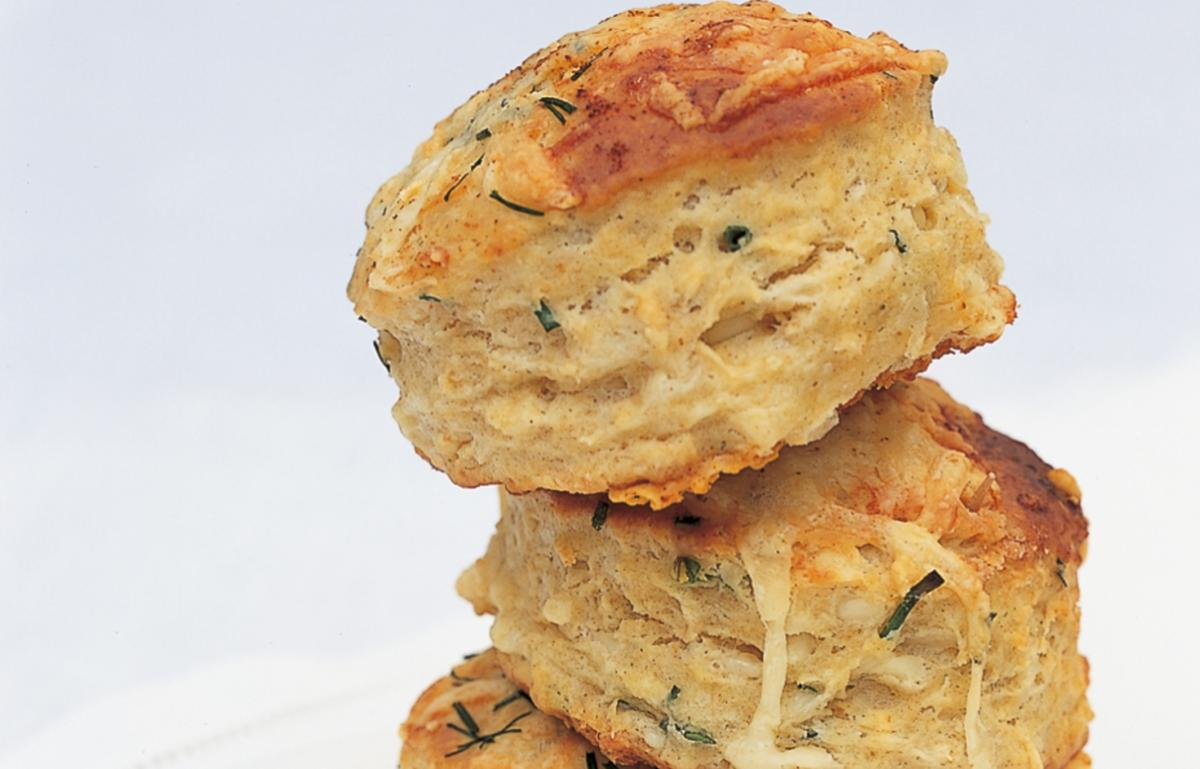 A picture of Cheese Scones, make your own!