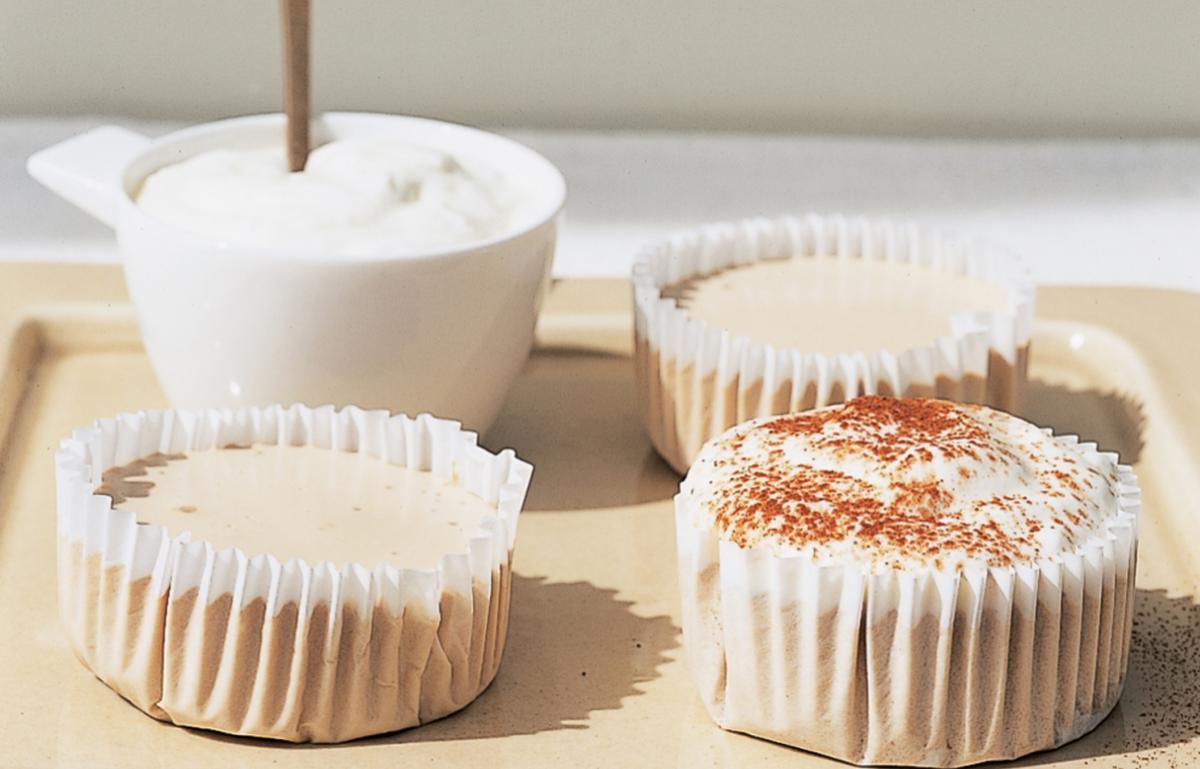 A picture of Delia's Cappuccino Cheesecakes recipe
