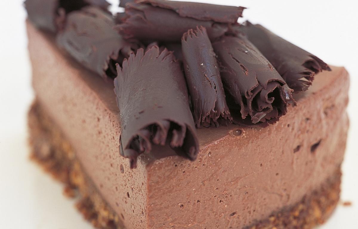 A picture of Delia's Chocolate Ricotta Cheesecake recipe
