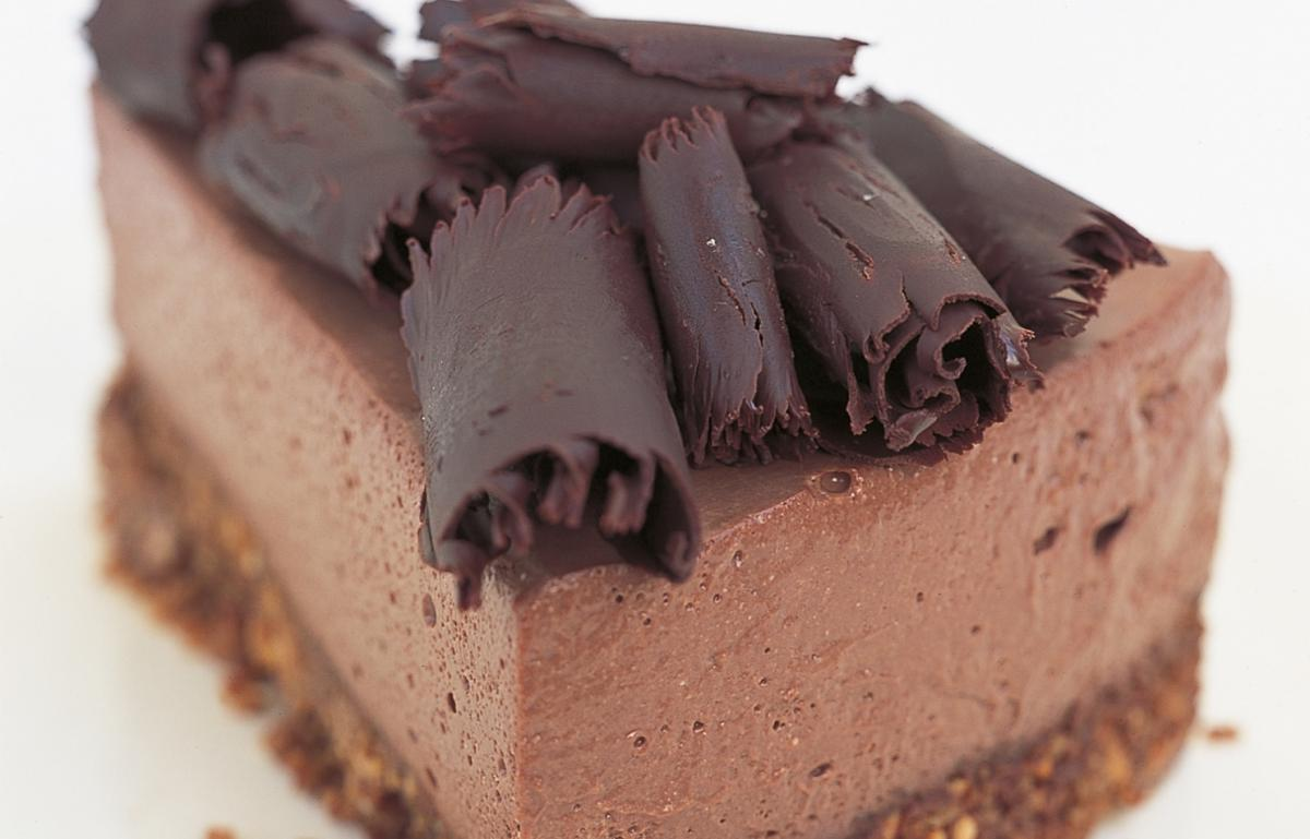 Htc chocolate ricotta cheesecake
